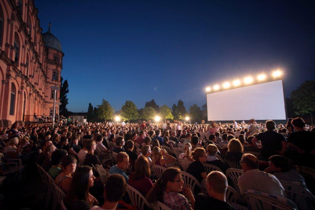 Schloss Gottesaue Open Air Kino